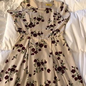 Floral dress from ModCloth
